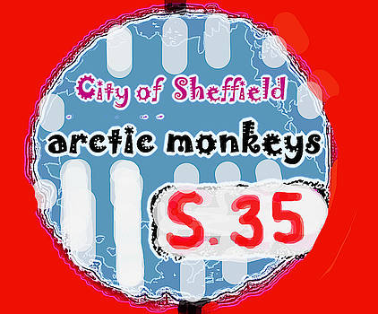 Enki Art - arctic monkeys high green sheffield