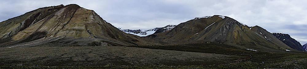 Arctic Mountain Landscape by Kai Mueller
