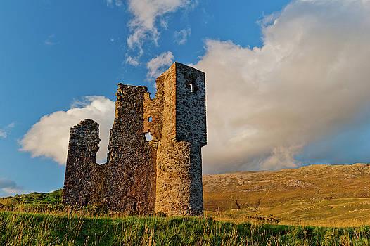 David Ross - Ardvreck Castle, Sutherland, Scottish Highlands