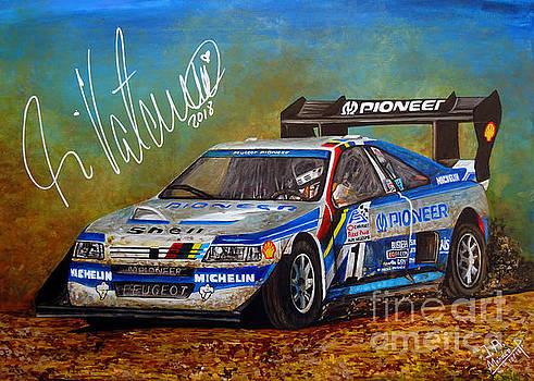 Ari Vatanen Peugeot 405 by Jose Mendez