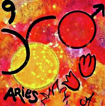 Aries Sun Sign by Carol Stanley