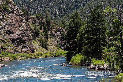 Arkansas River in Brown's Canyon Natinoal Monument by Steve Krull