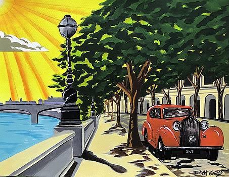 Art Deco Chelsea Embankment by Emma Childs