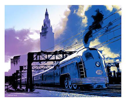 Greg Joens - Art Deco Train