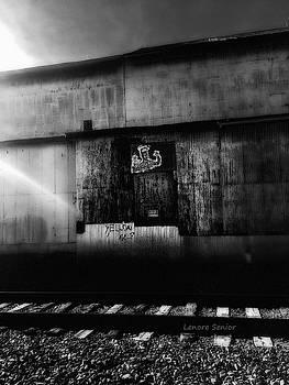 Art on Railroad Avenue by Lenore Senior