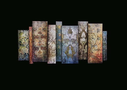 Art Panels - Antique Wallpaper  by Andrea Kollo
