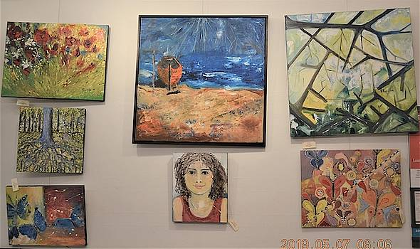 Art Show -paintings by Evelina Popilian