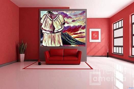 Art Used As Interior Design by Debra Lynch