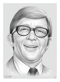 Arte Johnson by Greg Joens