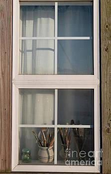 Artist Window by Dale Powell