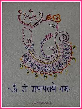 Artistic Ganapati by Sonali Gangane
