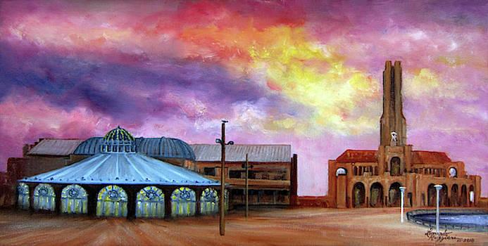 Asbury Park Casino Carousel by Leonardo Ruggieri