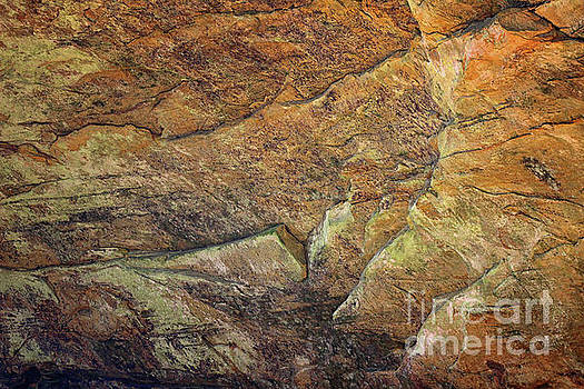 Ash Cave Abstract by Karen Adams