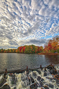 Ashland Mill Pond Dam by Juergen Roth