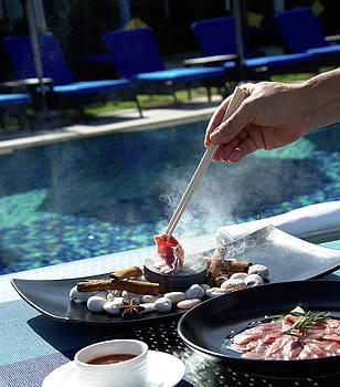 Asian food prepares  by Tamara Sushko