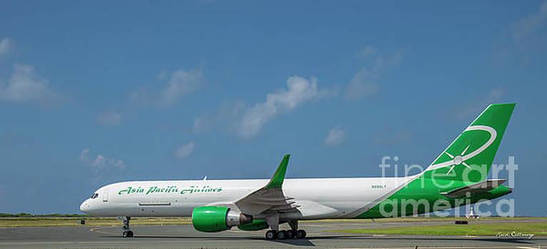 Reid Callaway - Asian Pacific Airlines N888LT Honolulu Internation Airport Oahu Hawaii Art