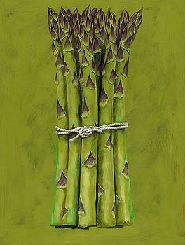 Asparagus bunch Wall Art by Brian James