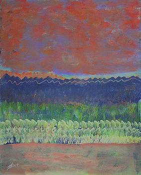 Aspen Grove original painting by Sol Luckman