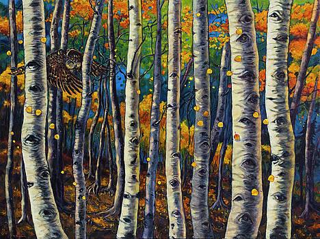 Aspen Owl by Rebecca Baldwin