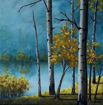 Aspen Shadows  by Danett Britt