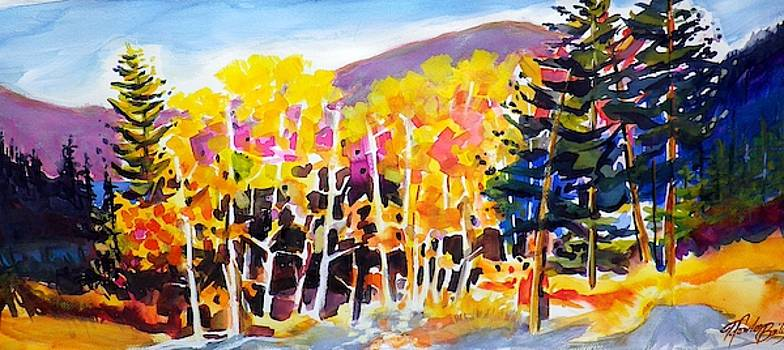 Aspens of Tahoe by Therese Fowler-Bailey