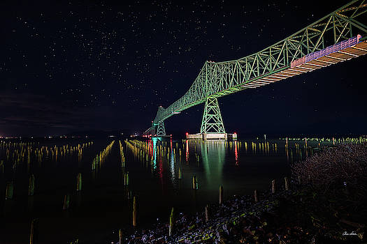 Astoria Bridge Reflections by Chris Steele