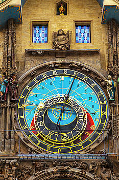 Prague Astronomical Clock by Andrew Soundarajan
