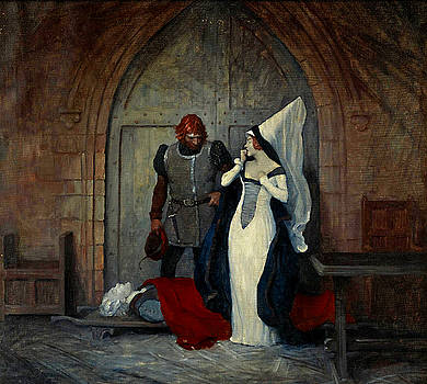 At Daybreak - Mistress - In Execution of the Sentence Passed upon him Yesterday in the Governors Cou by Newell Convers Wyeth