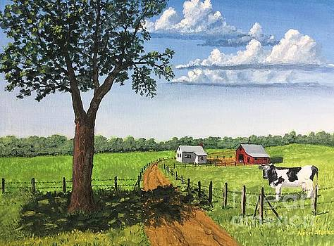 At Home on the Farm by Norm Starks