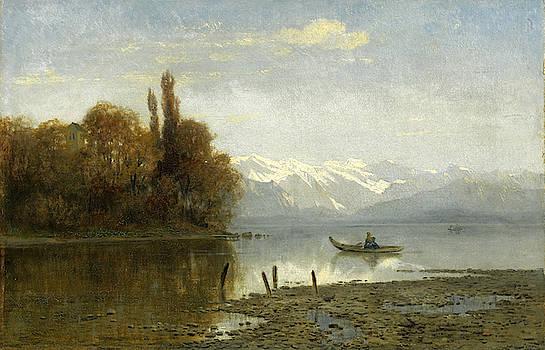 Arnold Steffan - At Lake Starnberg