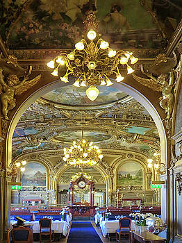 At Le Train Bleu by Dave Mills