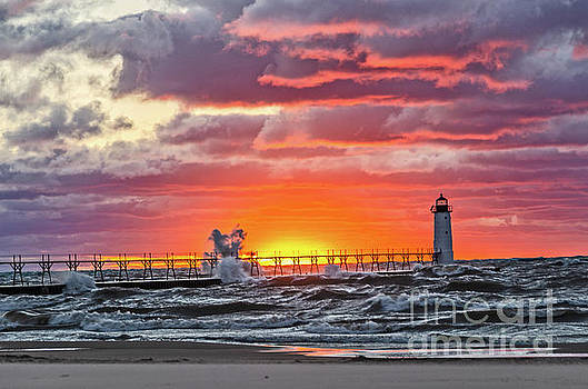 At the Beginning of the Sunset by Sue Smith