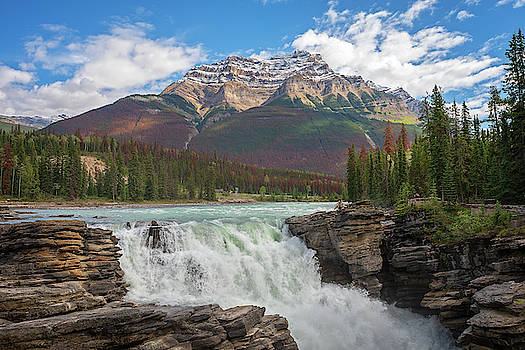 Athabasca Falls by Eunice Gibb