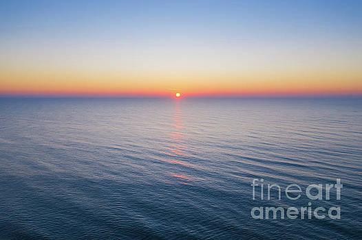 Atlantic Ocean Sunrise  by Michael Ver Sprill