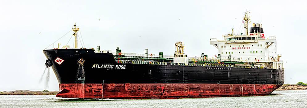 Atlantic Rose Hong Kong Ship by Debra Martz