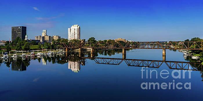 Augusta GA Savannah River Panorama by Sanjeev Singhal