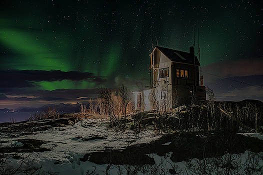 Aurora Borealis over Harstad by Kai Mueller