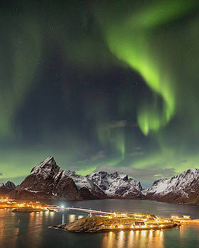 Aurora in Lofoten by Alex Conu