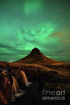 Aurora Mountain by Jamie Pham