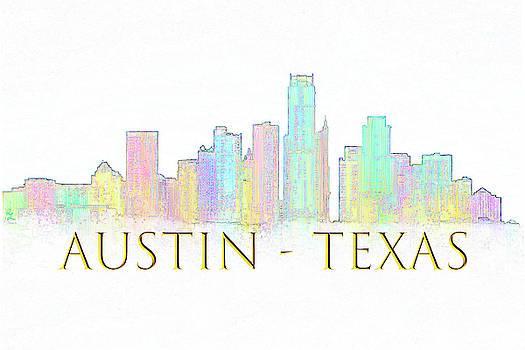 Austin Skyline by Renee Logan