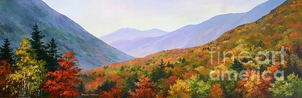 Autumn at Crawford Notch by Varvara Harmon