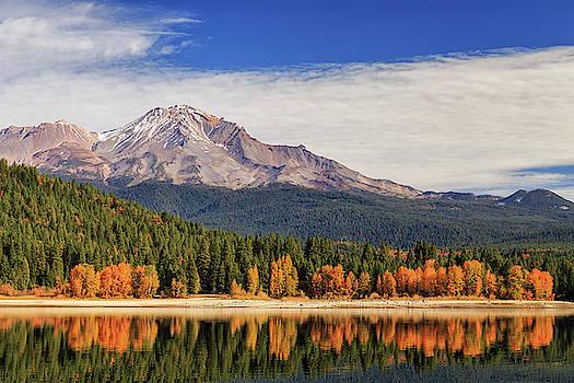 Autumn At Mount Shasta by James Eddy