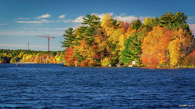 Autumn Colors in Kearney Lake by Ken Morris