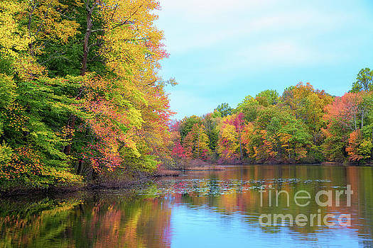 Autumn Colors in NJ  by Michael Ver Sprill