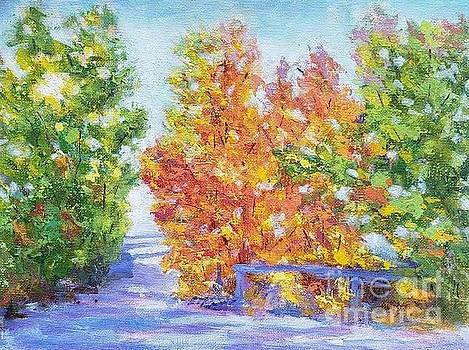 Autumn colors by Olga Malamud-Pavlovich