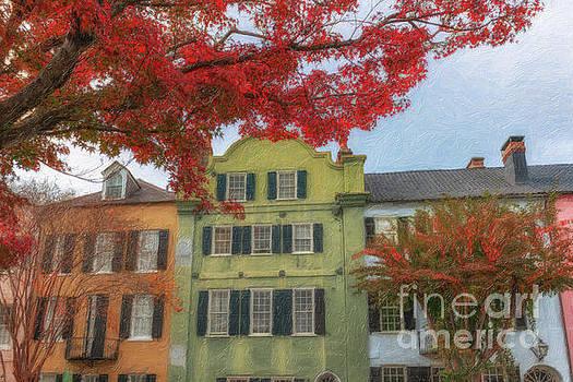 Dale Powell - Autumn Colors - Rainbow Row