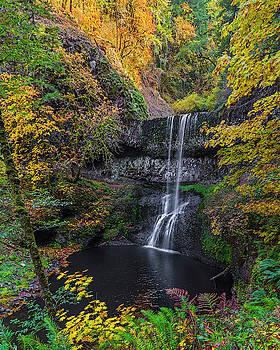 Autumn Falls. by Ulrich Burkhalter