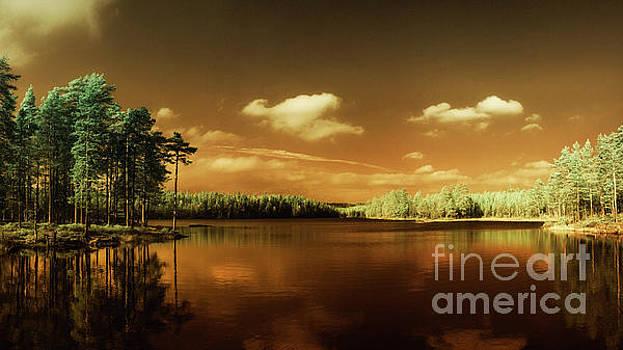 Autumn Lake by Erik Brede
