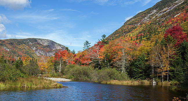 Cliff Wassmann - Autumn Lake New Hampshire