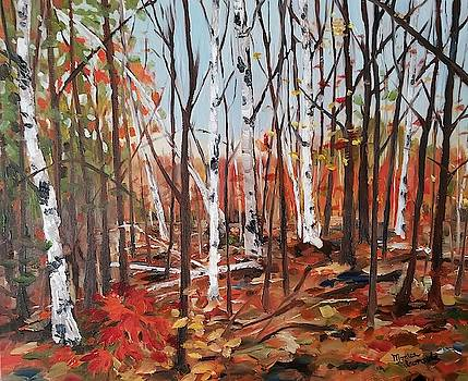 Autumn Leaves by Monica Ironside